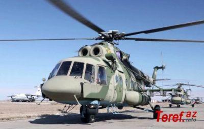 Rusiyada helikopter sərt eniş edib, ölənlər var